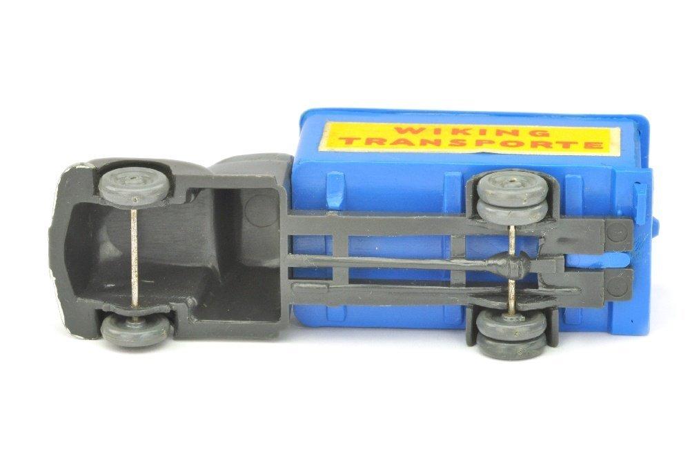 Koffer-LKW Ford, anthrazit/himmelblau - 3