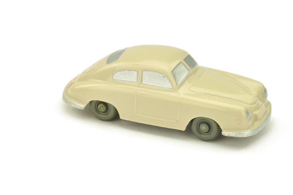 Porsche 356 (Typ 2), dunkelbraunweiss (gesilbert)