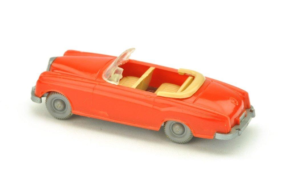 Mercedes 220 Cabrio, orangerot - 2