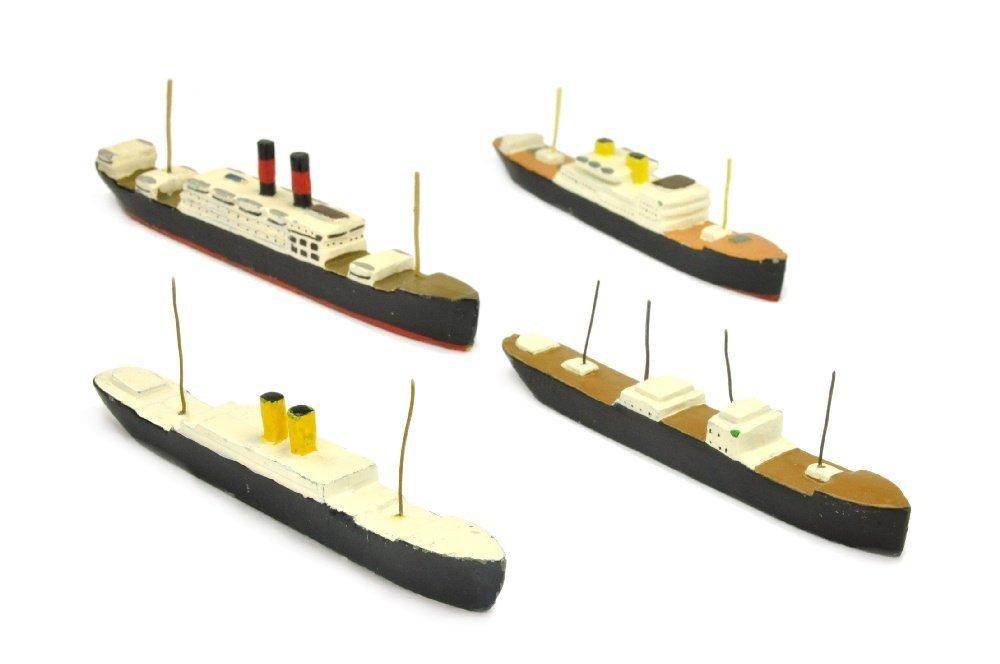 PILOT - Konvolut 4 Passagierschiffe