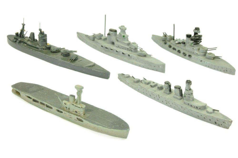 PILOT - Konvolut 5 Kriegsschiffe