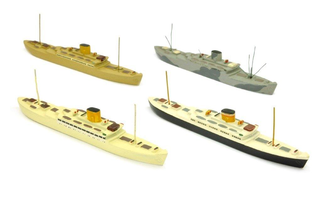 Konvolut 4 Passagierschiffe Caribia