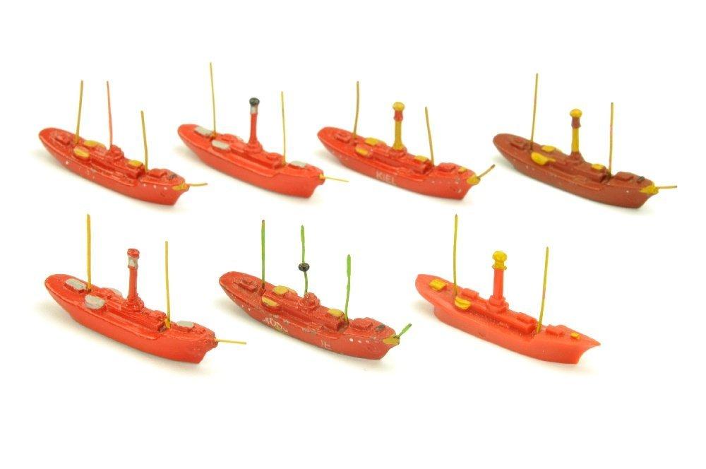 Konvolut 7 Feuerschiffe