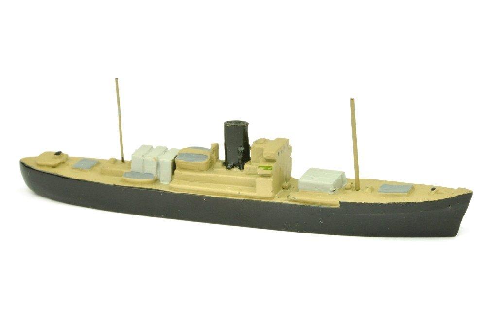 Frachtdampfer (ex Wassner, mit Decksladung)