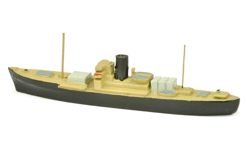 Frachtdampfer (ex Wassner, mit Decksladung) - 2