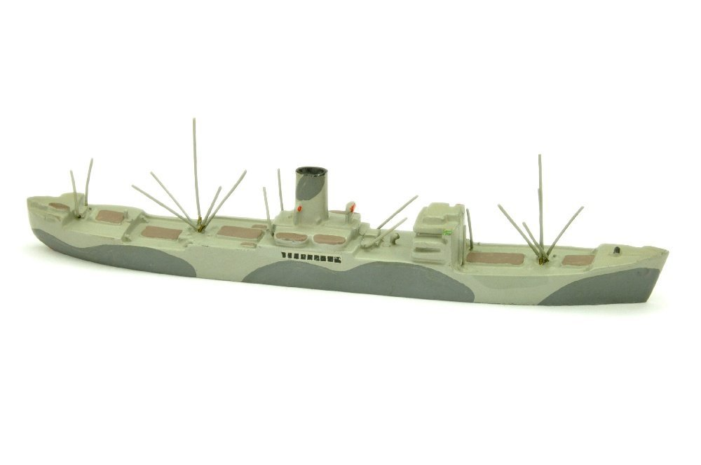 Frachtschiff Hohenfels (tarnlackiert)