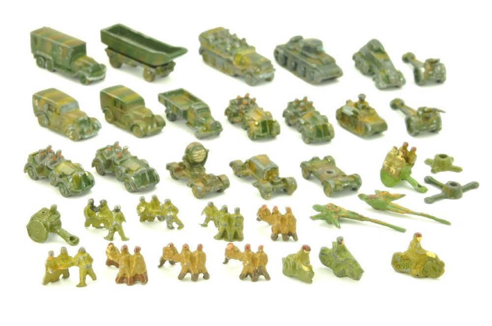 Konvolut ca. 30 Wehrmachtsmodelle