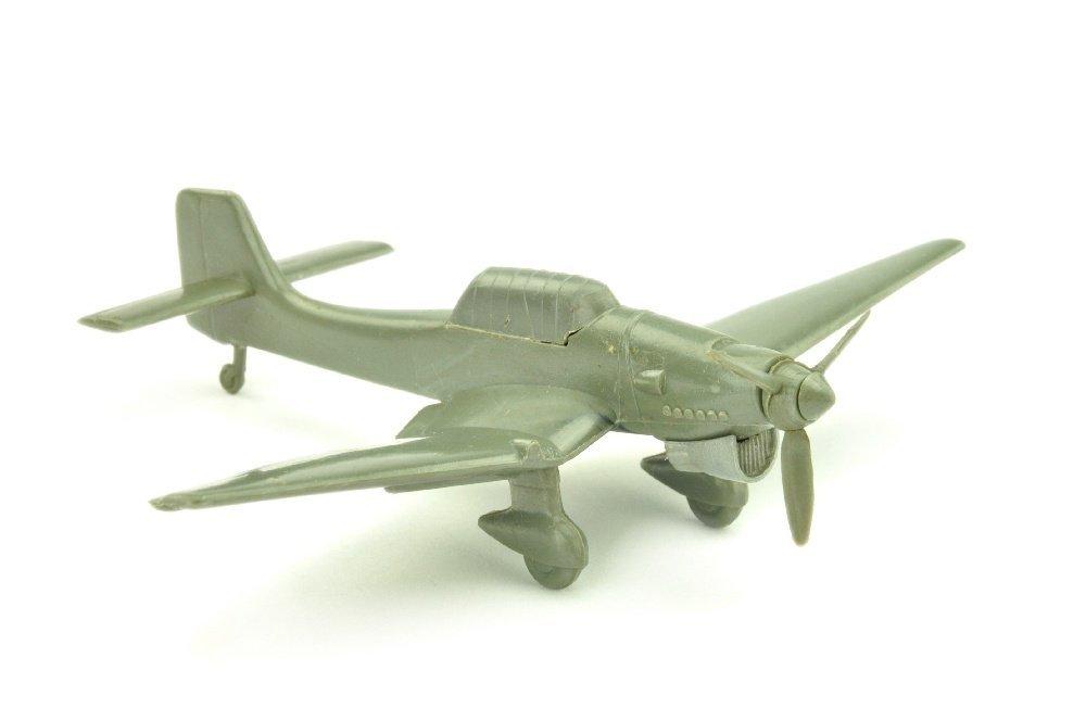 Flugzeug Spitfire, betongrau (Massstab 1:200)