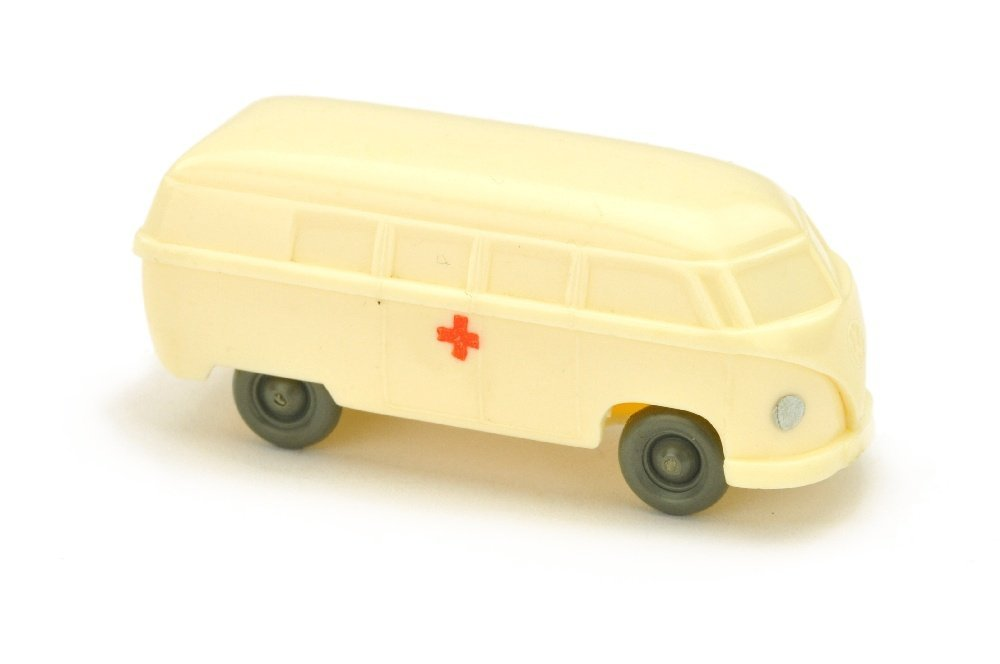 Krankenwagen VW Bus (Typ 4), cremeweiss