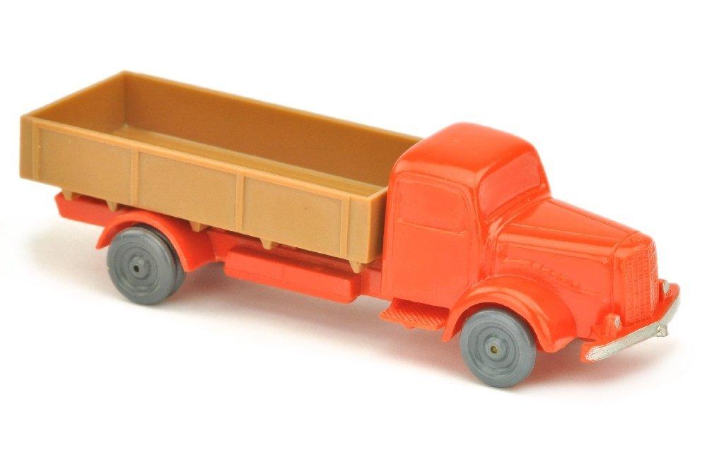 MB 5000 Pritsche, orangerot/ockerbraun