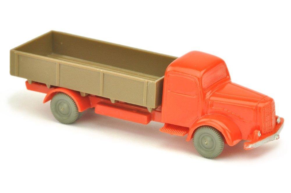 MB 5000 Pritsche, orangerot/blassbraun
