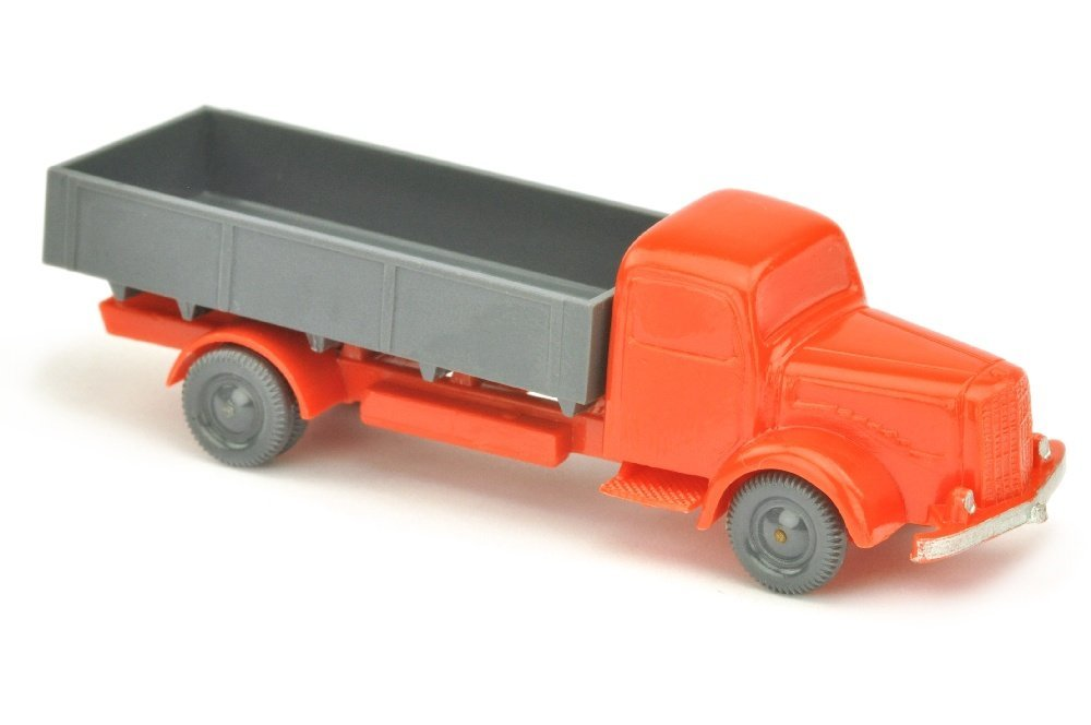MB 5000 Pritsche, orangerot/d'-basaltgrau