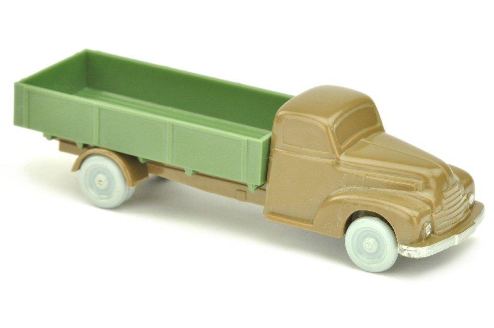 Ford Pritsche, blassbraun/dunkelmaigruen