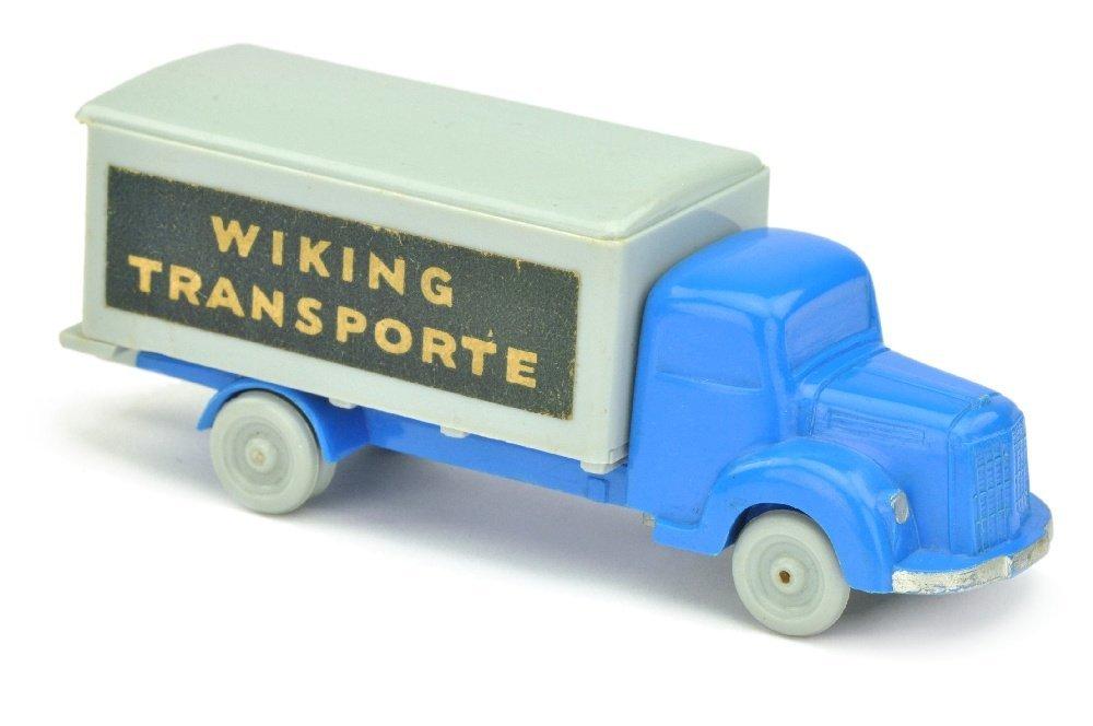 Koffer-LKW MB 3500, himmelblau/silbergrau