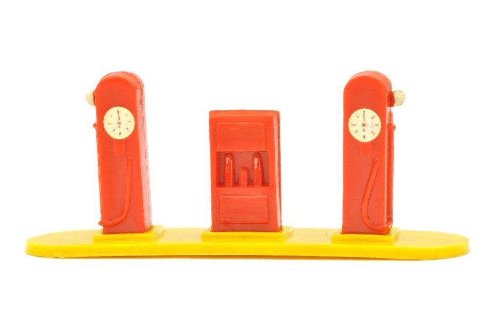 Kleine Tankstelle (Typ 2), orangerot/gelb