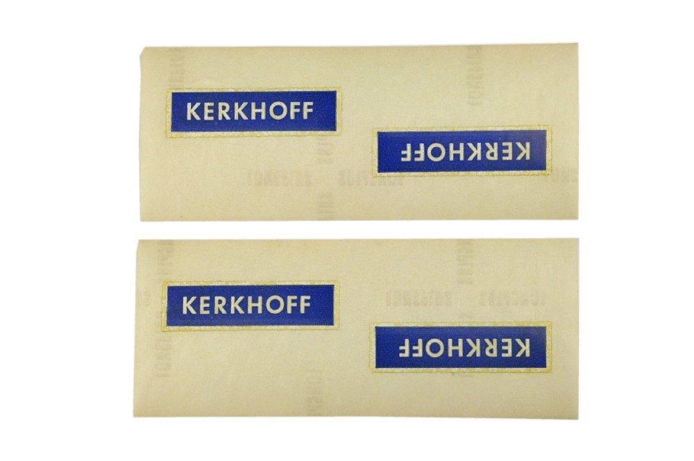 Restposten Aufkleber fuer Werbemodell Kerkhoff/1
