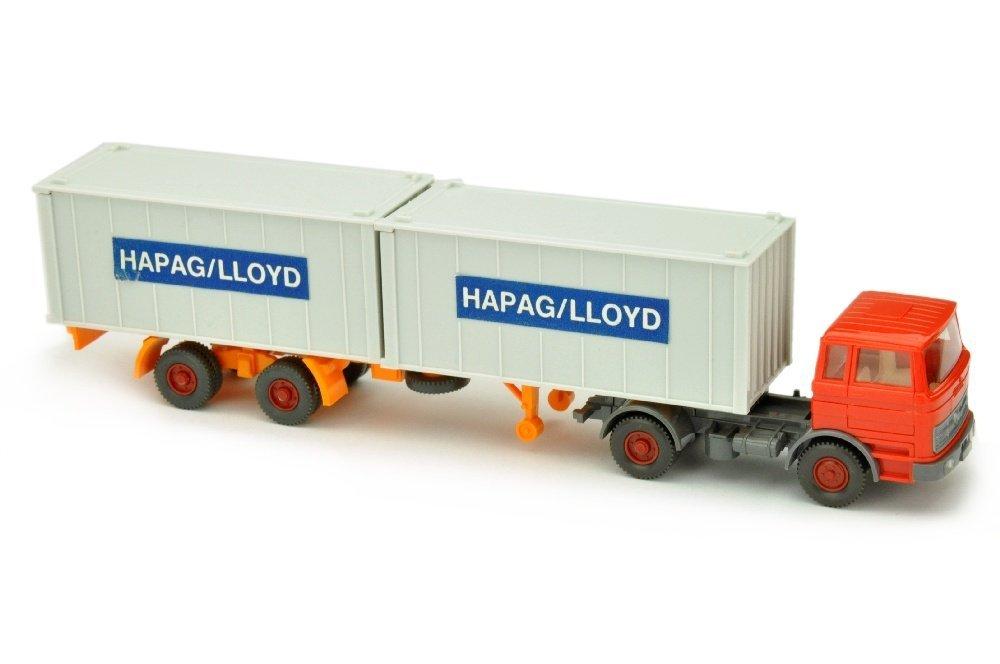 Hapag-Lloyd/2DD - MB 1620, orangerot