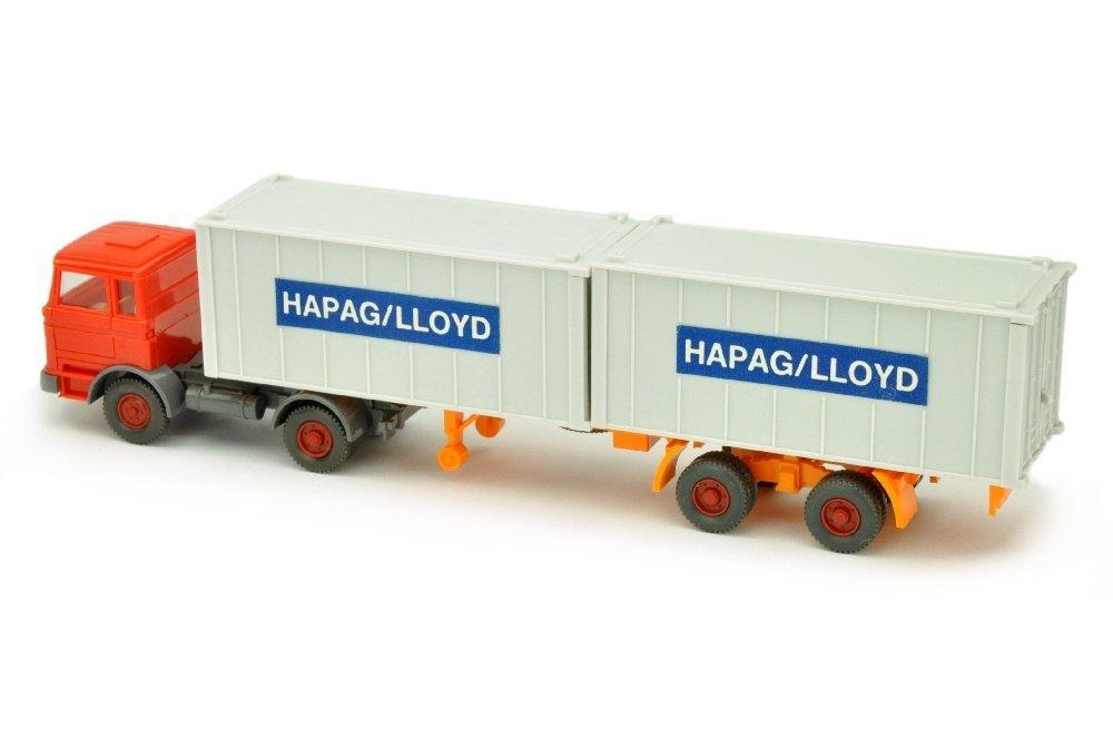 Hapag-Lloyd/2DD - MB 1620, orangerot - 2
