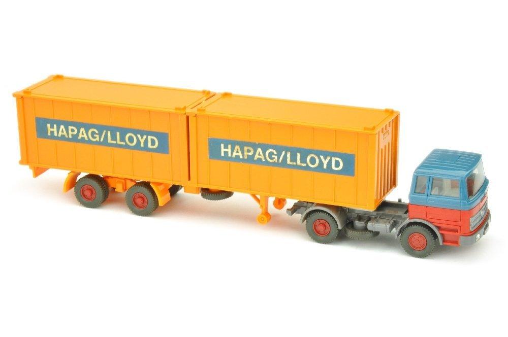 Hapag-Lloyd/2GE - MB 1620, azurblau/rot