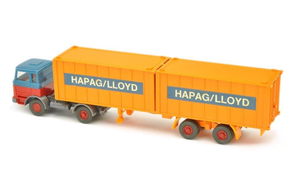 Hapag-Lloyd/2GE - MB 1620, azurblau/rot - 2