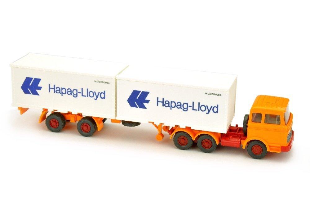 Hapag-Lloyd/9- - MB 2223, hellorangegelb