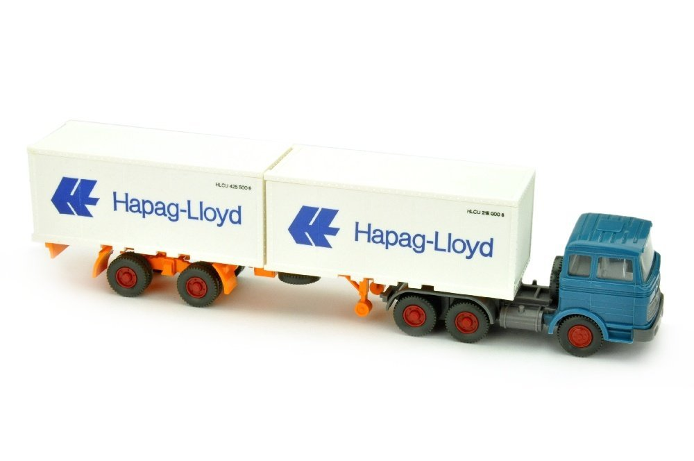 Hapag-Lloyd/9J - MB 2223, azurblau