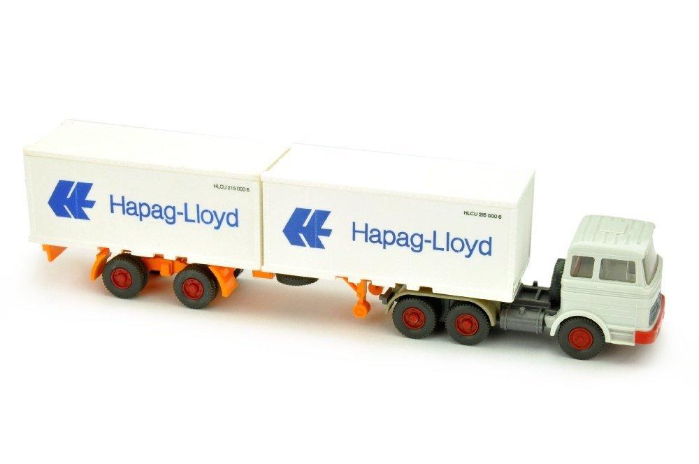 Hapag-Lloyd/9N - MB 2223, altweiss