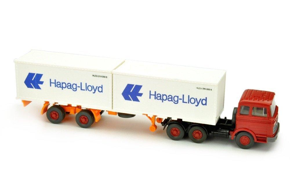 Hapag-Lloyd/9- - MB 2223, rubinrot
