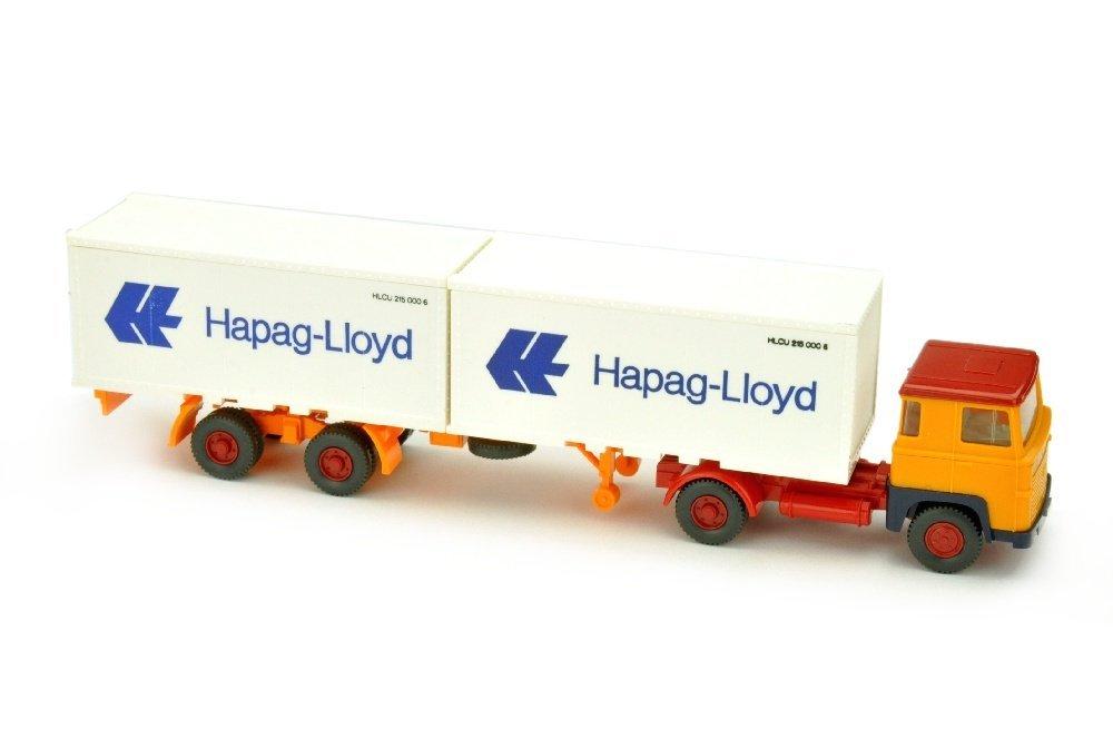 Hapag-Lloyd/10B - Scania 110, chromgelb