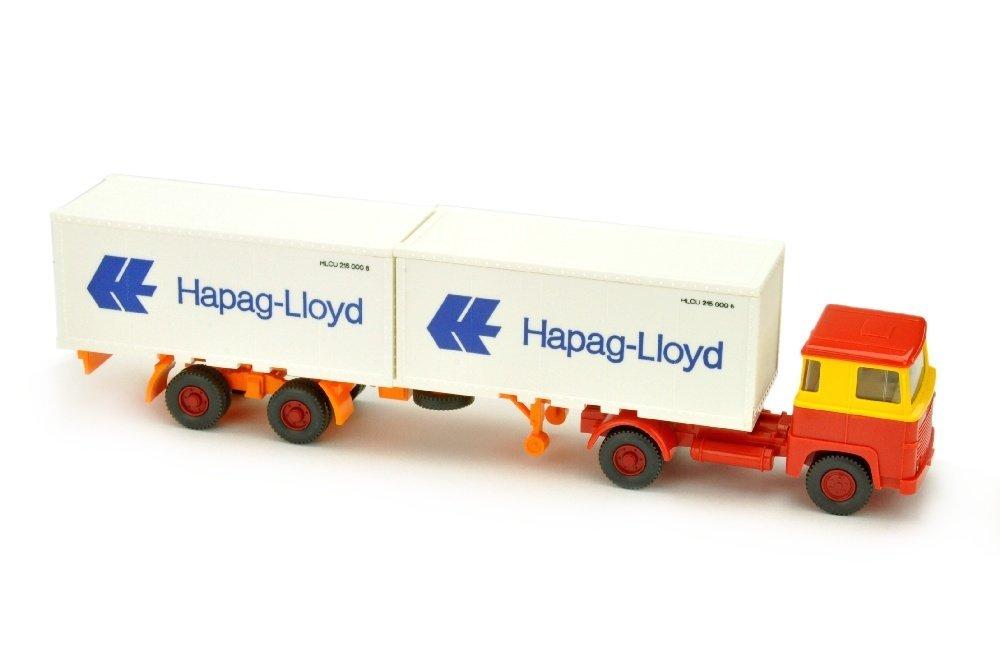 Hapag-Lloyd/11D - Scania 111, gelb/rot
