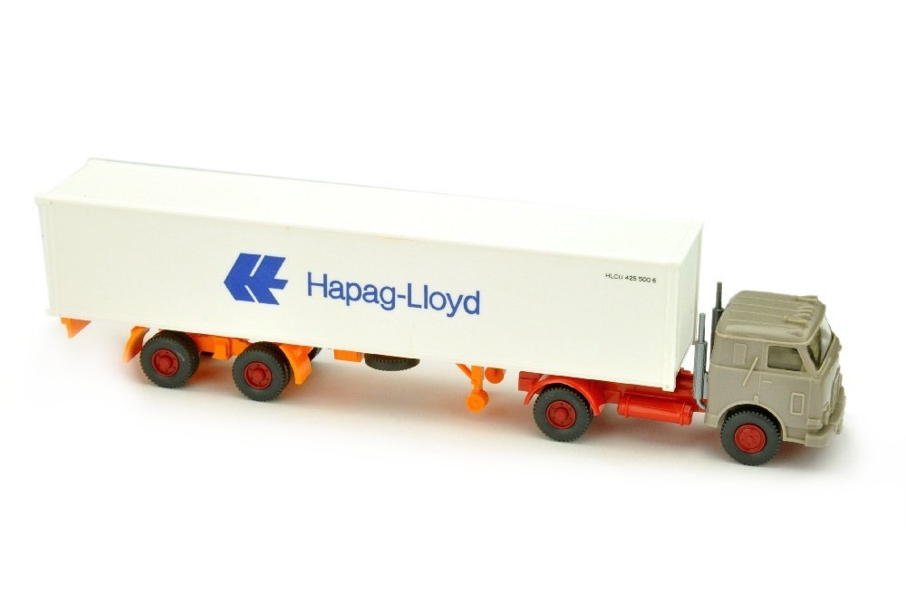 Hapag-Lloyd/12 - US-LKW, zementgrau