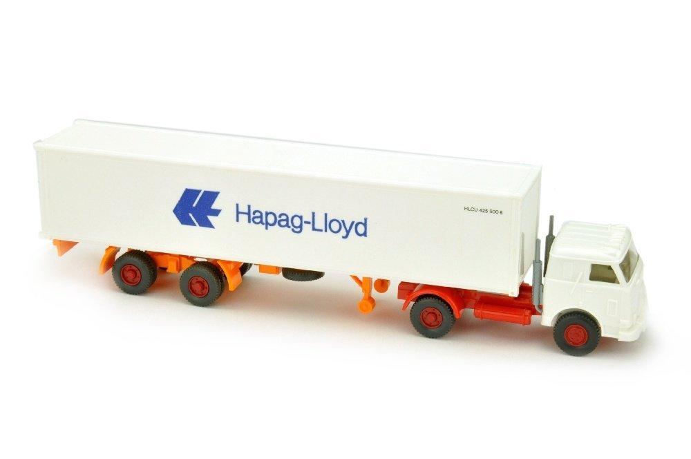 Hapag-Lloyd/12 - US-LKW, weiss