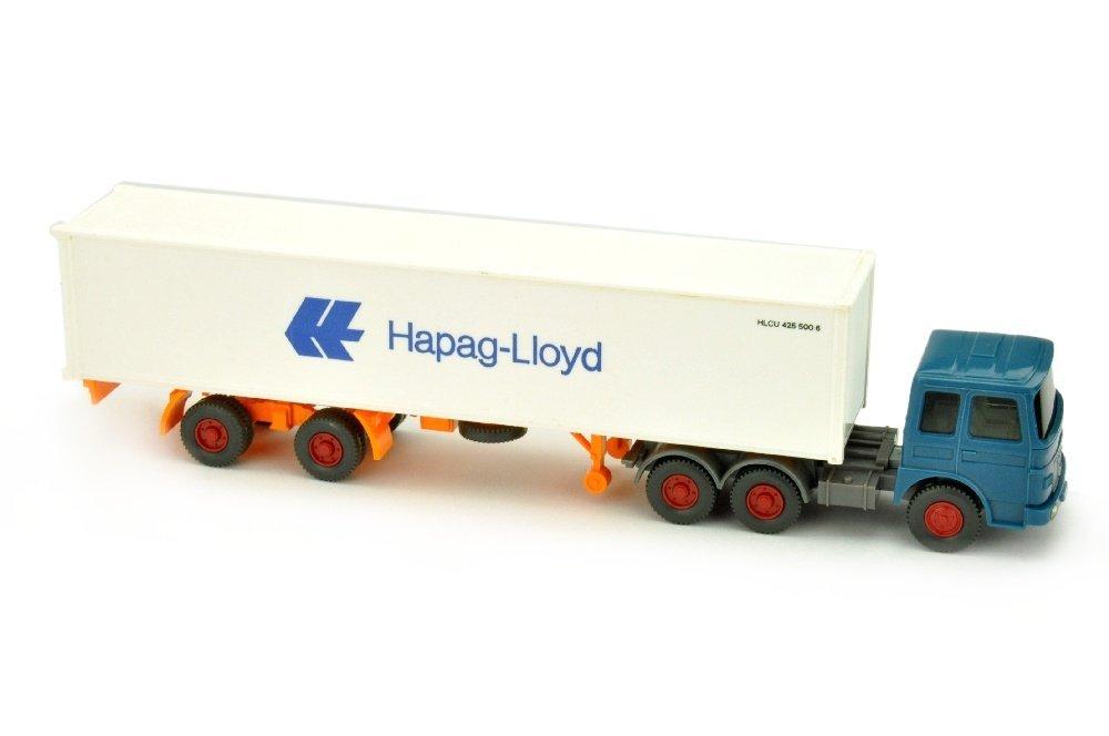 Hapag-Lloyd/14C - MAN 22.321, azurblau