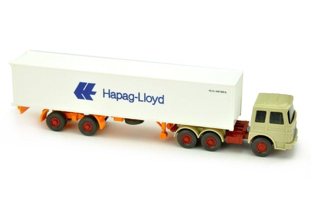 Hapag-Lloyd/14F - MAN 22.321, hellgelbgrau