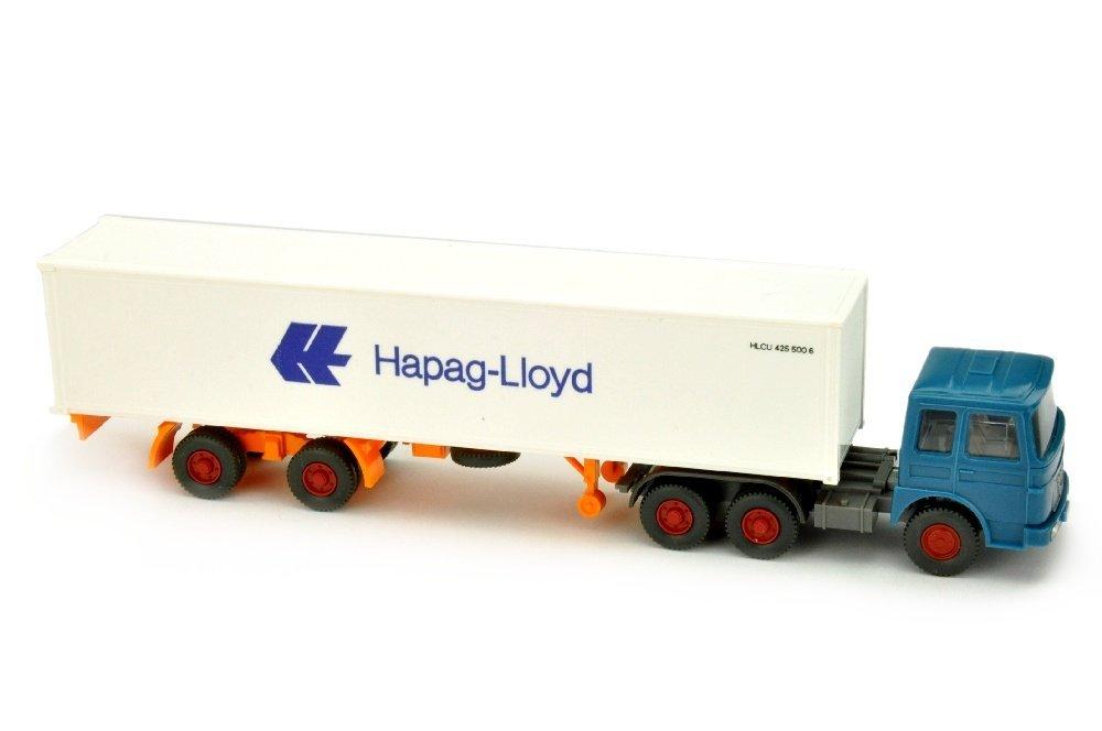 Hapag-Lloyd/14J - MAN 22.321, azurblau
