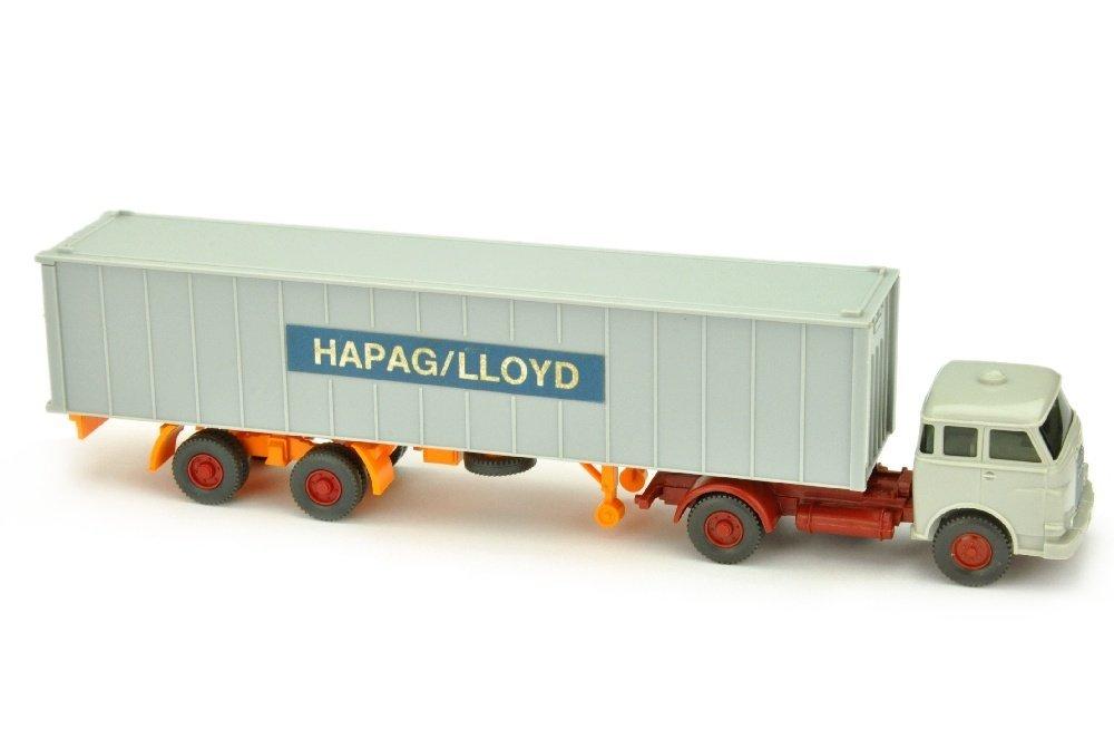 Hapag-Lloyd/1E - MAN 10.230, achatgrau