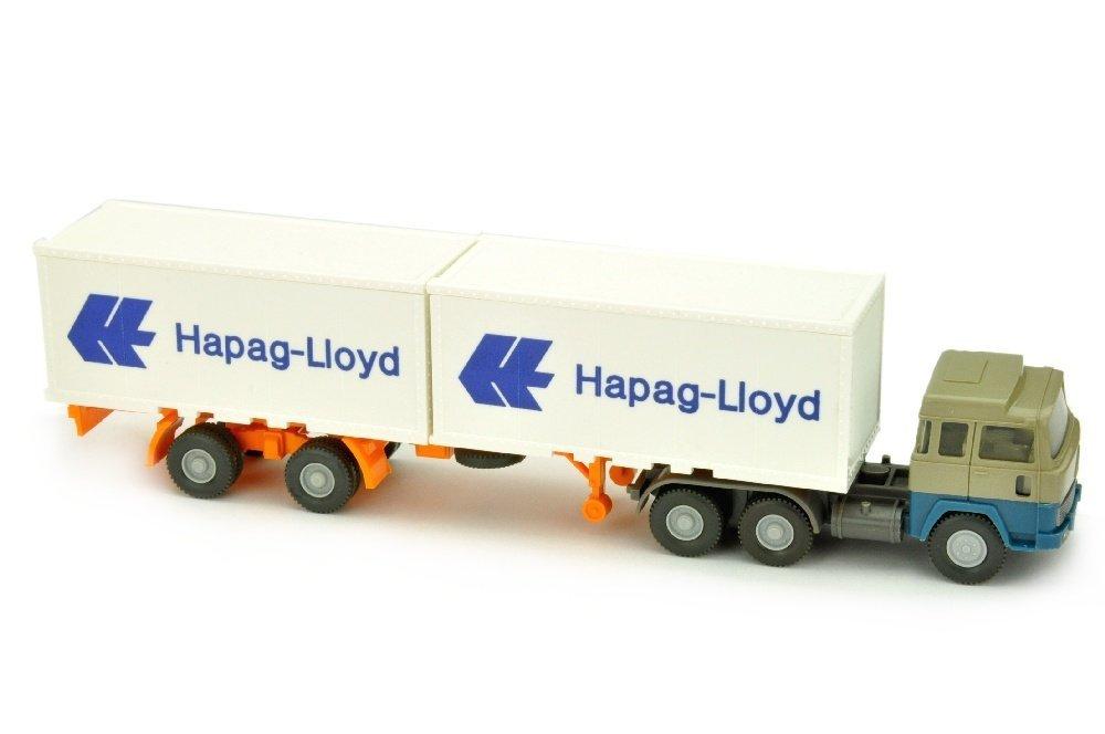 Hapag-Lloyd/4 - Magirus 235 D, olivgrau/azurblau