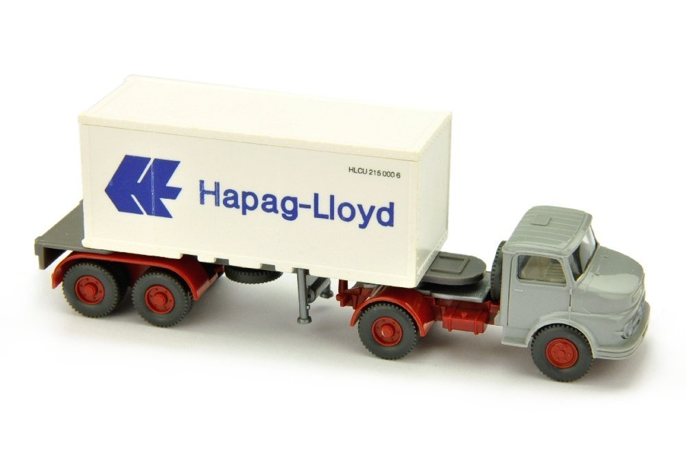Hapag-Lloyd - Container-LKW MB 1413