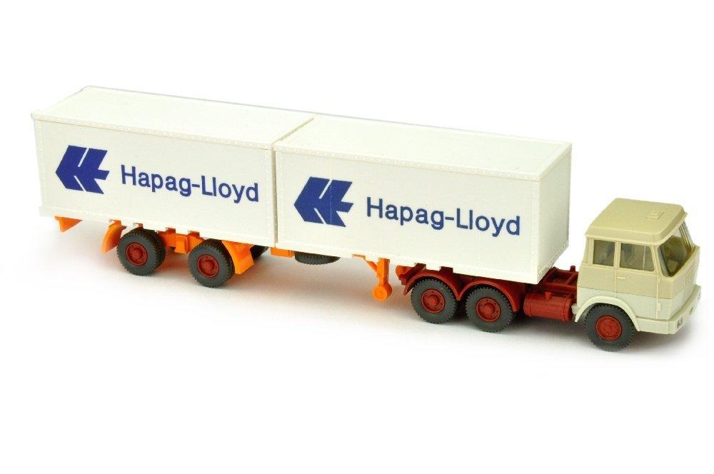 Hapag-Lloyd/7AP - Hanomag, h'elfenbein/grauweiss
