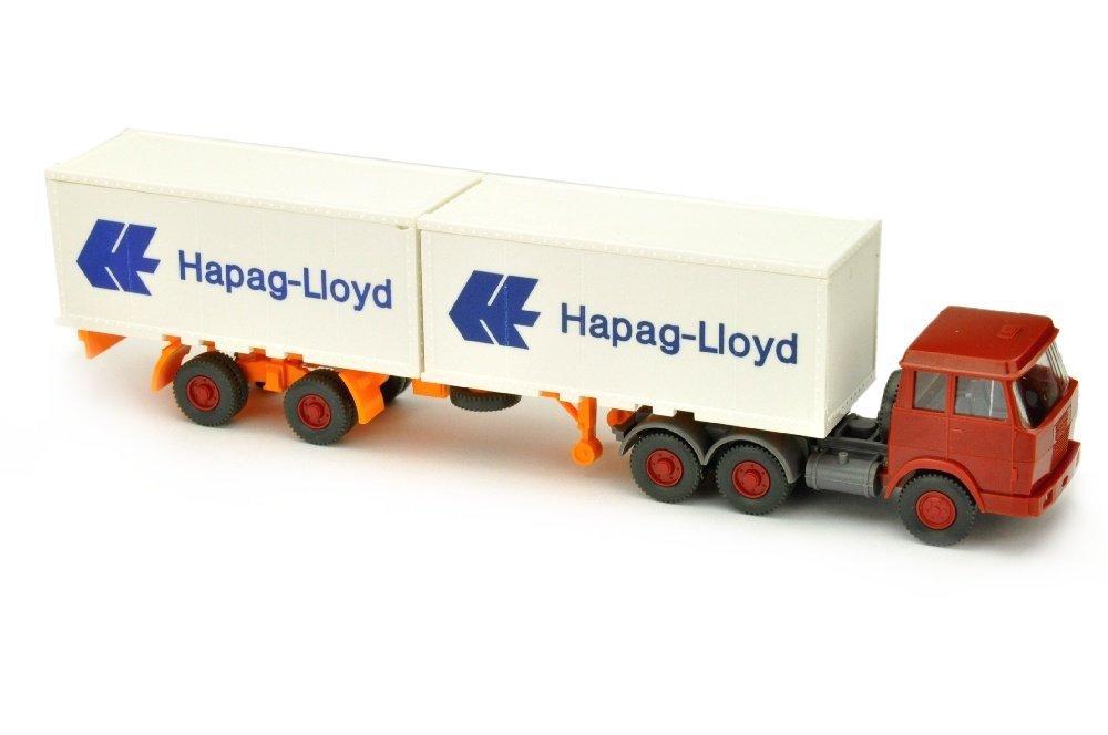 Hapag-Lloyd/7BB - Hanomag, weinrot