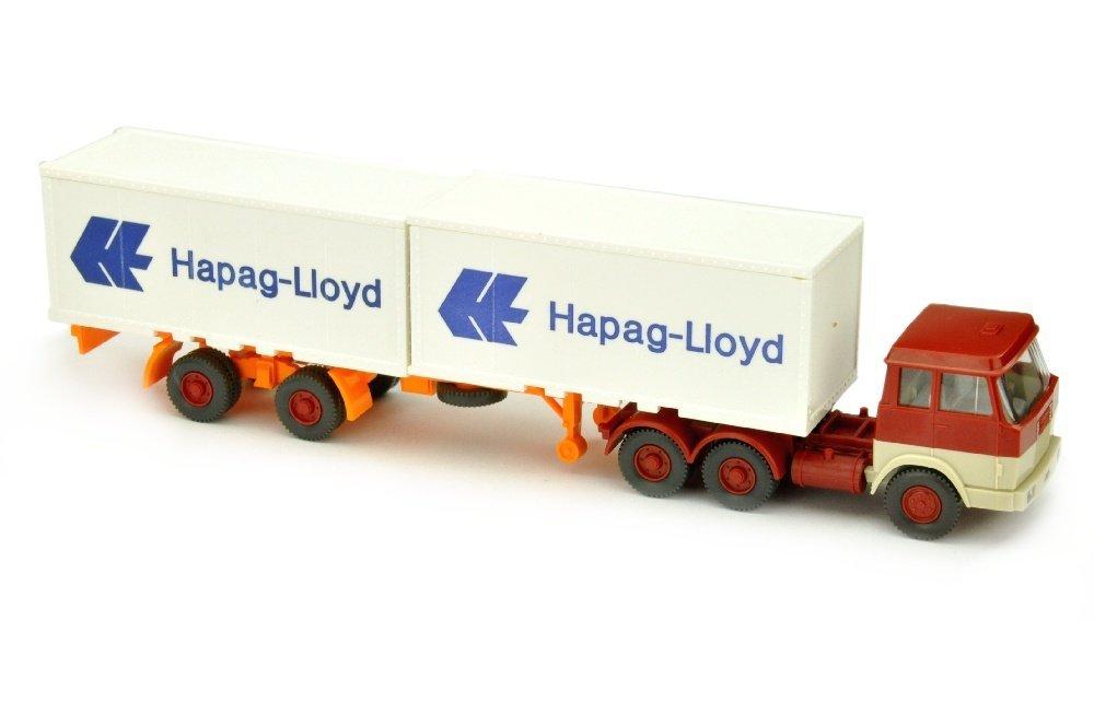 Hapag-Lloyd/7BA - Hanomag, weinrot/h'elfenbein