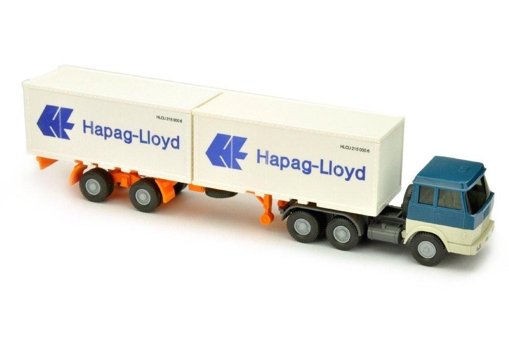 Hapag-Lloyd/7DO - Hanomag, azurblau/perlweiss