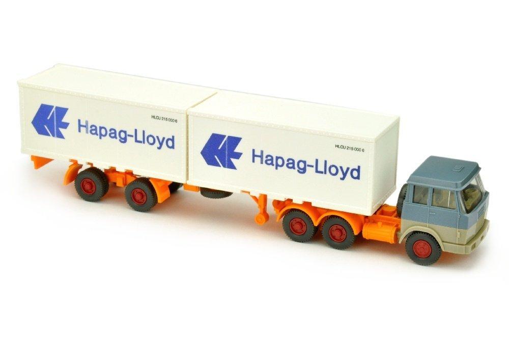 Hapag-Lloyd/7EJ - Hanomag, graublau/olivgrau