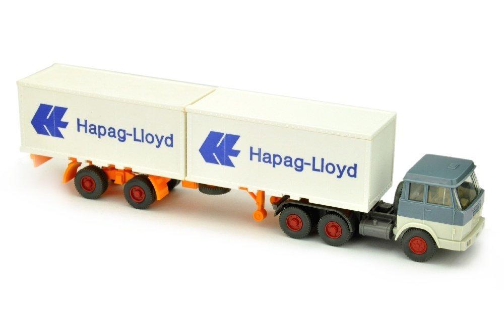 Hapag-Lloyd/7EP - Hanomag, graublau/grauweiss