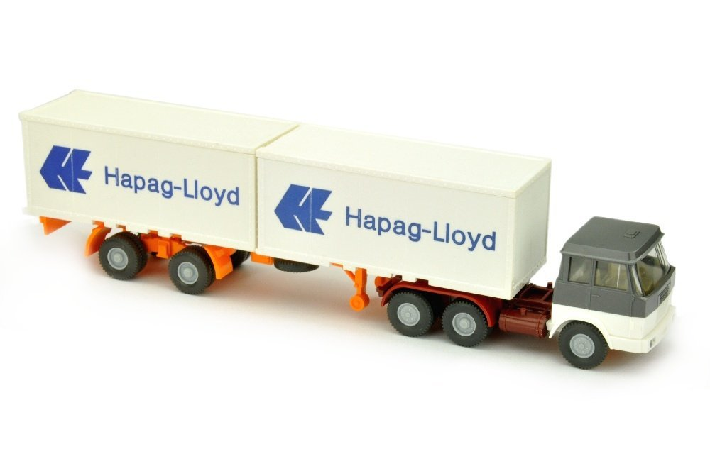 Hapag-Lloyd/7GM - Hanomag, basaltgrau/weiss