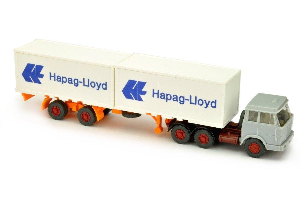 Hapag-Lloyd/7HH - Hanomag, silbergrau