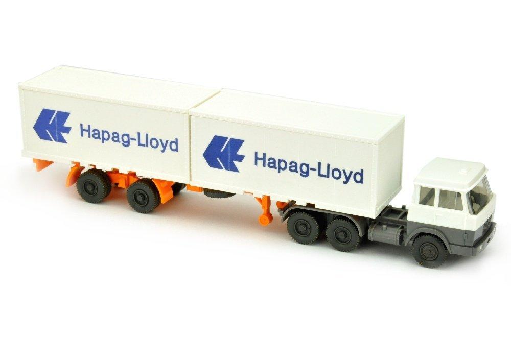 Hapag-Lloyd/7MG - Hanomag, weiss/basaltgrau
