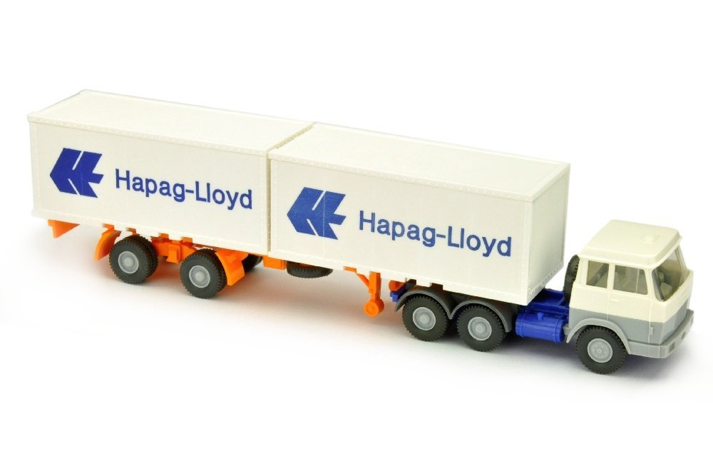 Hapag-Lloyd/7MH - Hanomag, weiss/silbergrau