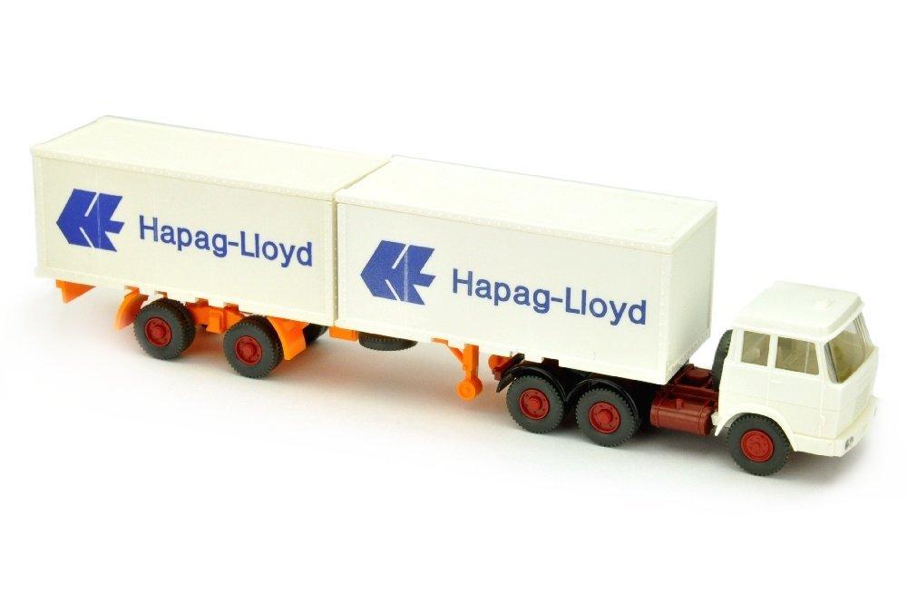 Hapag-Lloyd/7MM - Hanomag, weiss