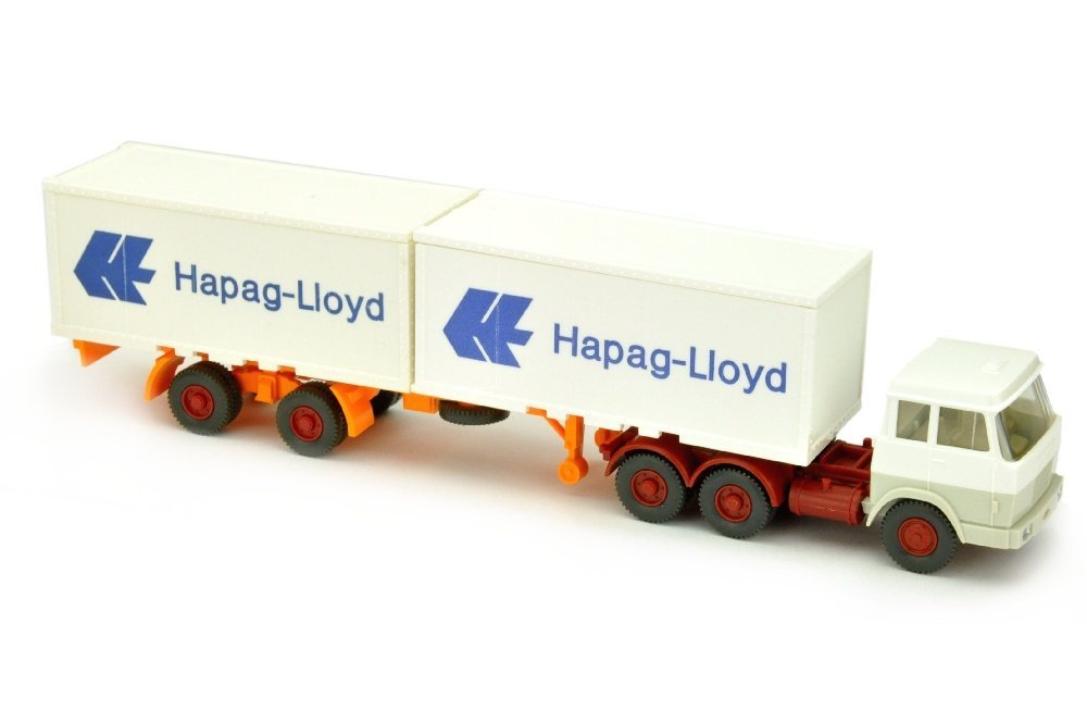 Hapag-Lloyd/7MP - Hanomag, weiss/grauweiss